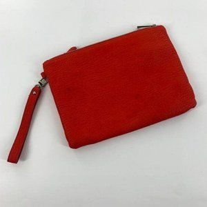 Express Red Clutch Purse w/ Removable Pouch